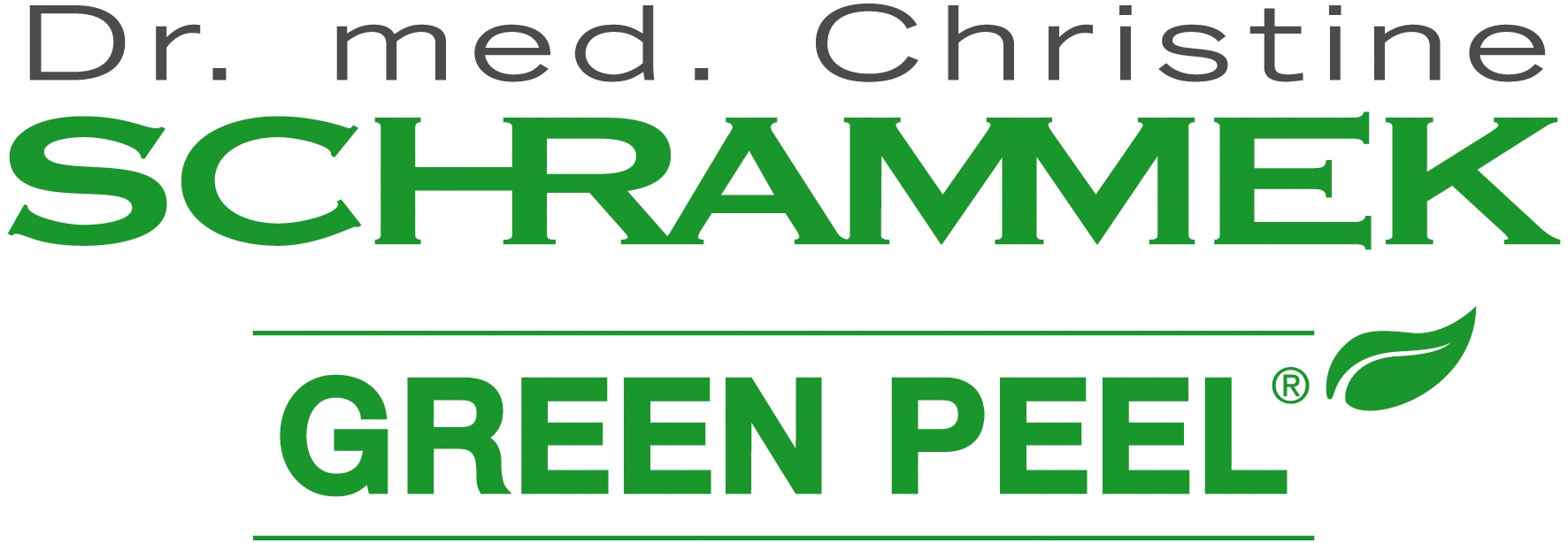 new logo green peel